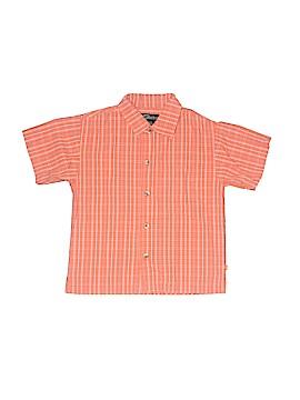Urban Short Sleeve Button-Down Shirt Size 6
