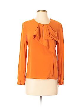 3.1 Phillip Lim Long Sleeve Silk Top Size 2