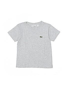 Lacoste Short Sleeve T-Shirt Size 4