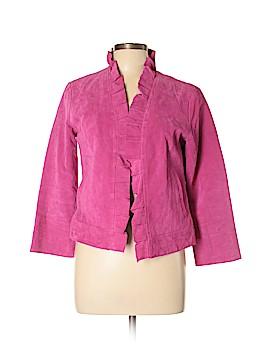 Metro Style Leather Jacket Size 10