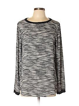 Lou & Grey Long Sleeve Blouse Size L