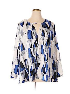 FASHION TO FIGURE Long Sleeve Blouse Size 1X (1) (Plus)