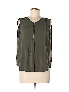 Velvet Sleeveless Blouse Size XS