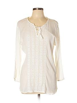 Lauren Jeans Co. 3/4 Sleeve Blouse Size L