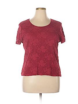 Covington Outlet Short Sleeve Blouse Size XL