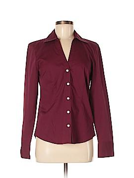 Ann Taylor LOFT Outlet Long Sleeve Button-Down Shirt Size 4