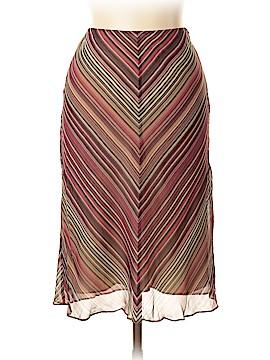 Banana Republic Silk Skirt Size 10