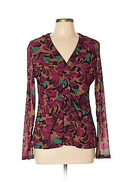 New York & Company Long Sleeve Top Size XL