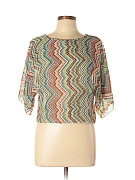 Vintage Havana 3/4 Sleeve Blouse Size L