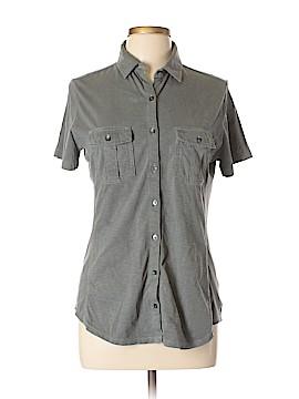 Eddie Bauer Short Sleeve Button-Down Shirt Size L