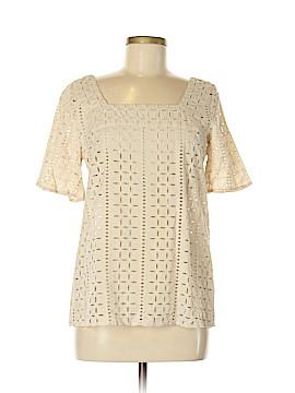Ann Taylor LOFT Short Sleeve Blouse Size 8