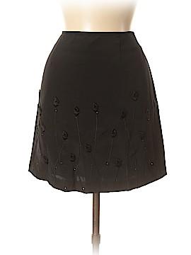 Cache Silk Skirt Size 4