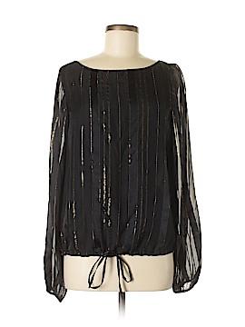 Rachel Zoe Long Sleeve Silk Top Size 6