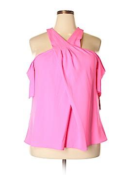 RACHEL Rachel Roy Short Sleeve Blouse Size 14