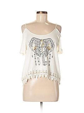 Streetwear Short Sleeve Top Size M