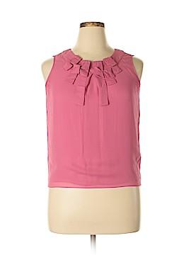 Talbots Sleeveless Silk Top Size 10 (Petite)