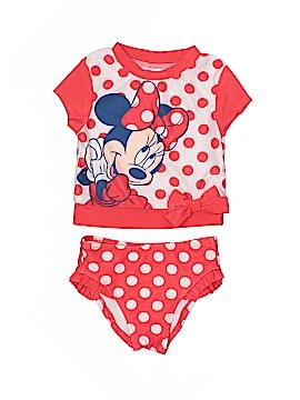 Disney Two Piece Swimsuit Size 12 mo
