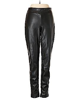 Ann Taylor Faux Leather Pants Size 2