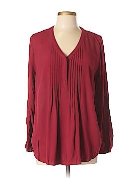 Daniel Rainn Long Sleeve Blouse Size XL