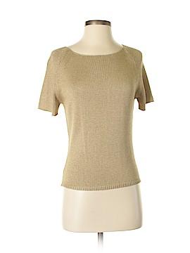 Carlisle Short Sleeve Silk Top Size M