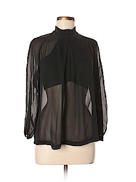 Robert Rodriguez Long Sleeve Silk Top Size 4