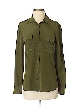Wink Long Sleeve Silk Top Size XS