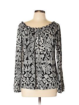 Carol Rose Long Sleeve Blouse Size L