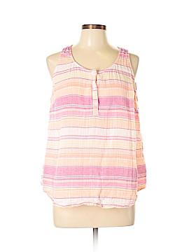 SONOMA life + style Sleeveless Button-Down Shirt Size XL