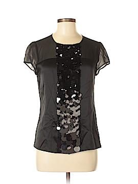 Ann Taylor LOFT Short Sleeve Silk Top Size 4