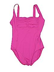 Calvin Klein Women One Piece Swimsuit Size 8