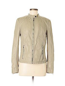 INC International Concepts Faux Leather Jacket Size M