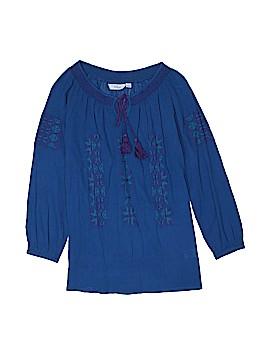 Great Northwest Indigo 3/4 Sleeve Blouse Size S