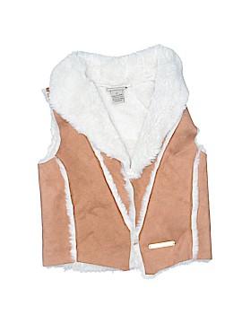 CALVIN KLEIN JEANS Faux Fur Vest Size 3T