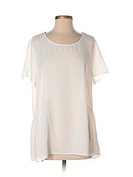 Pleione Short Sleeve Blouse Size 4