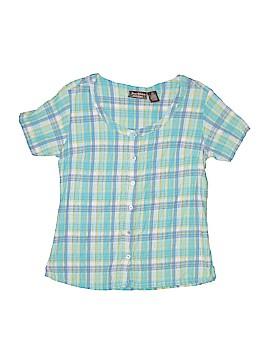 Jane Ashley Short Sleeve Top Size L