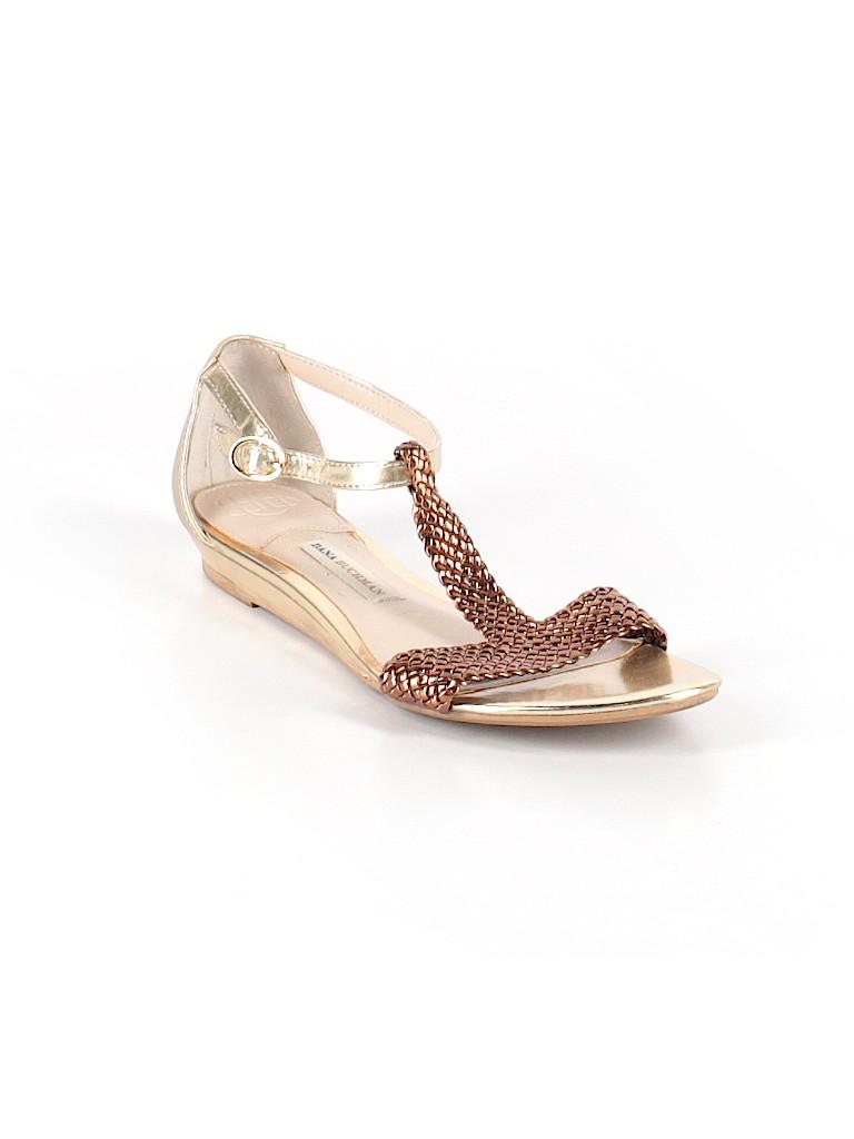 d8ee9b91e Dana Buchman Solid Gold Sandals Size 7 1 2 - 70% off