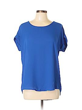Pleione Short Sleeve Blouse Size M