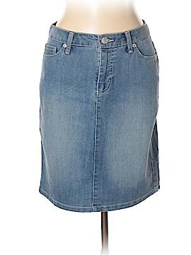 Nine West Denim Skirt Size 6