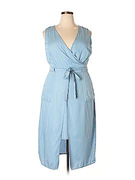 Modamix By Brandon Thomas Casual Dress Size 14W Plus (Plus)