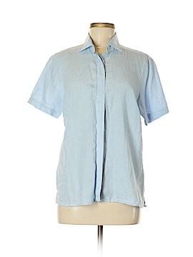 Lands' End Short Sleeve Button-Down Shirt Size M