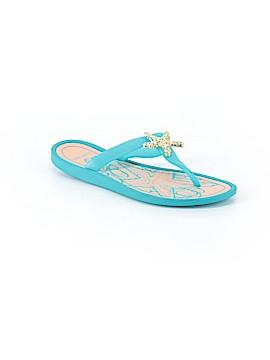 Nine West Flip Flops Size 10