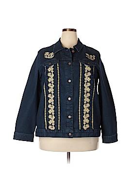 Coldwater Creek Denim Jacket Size 2X (Plus)