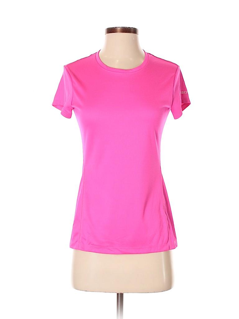 Asics Women Active T-Shirt Size XS