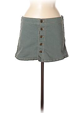 Heart Moon Star Denim Skirt Size 6