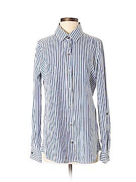 Oxford & Regent Long Sleeve Button-Down Shirt Size S