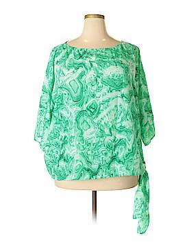 MICHAEL Michael Kors 3/4 Sleeve Blouse Size 3X (Plus)