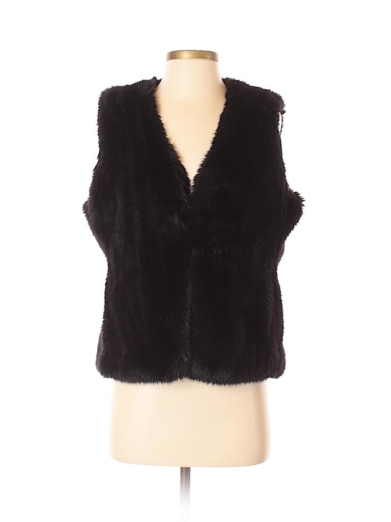 C. Wonder Women Faux Fur Vest Size S