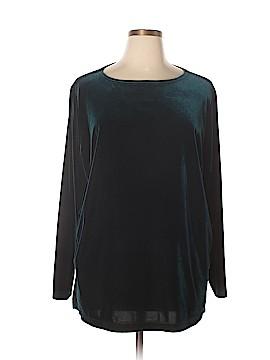 Kathie Lee Long Sleeve Top Size 22W - 24W (Plus)