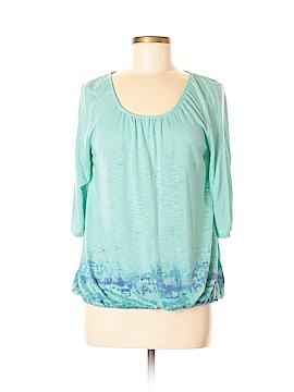Hang Ten 3/4 Sleeve Top Size M