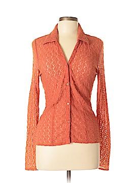 Tapemeasure Long Sleeve Button-Down Shirt Size L